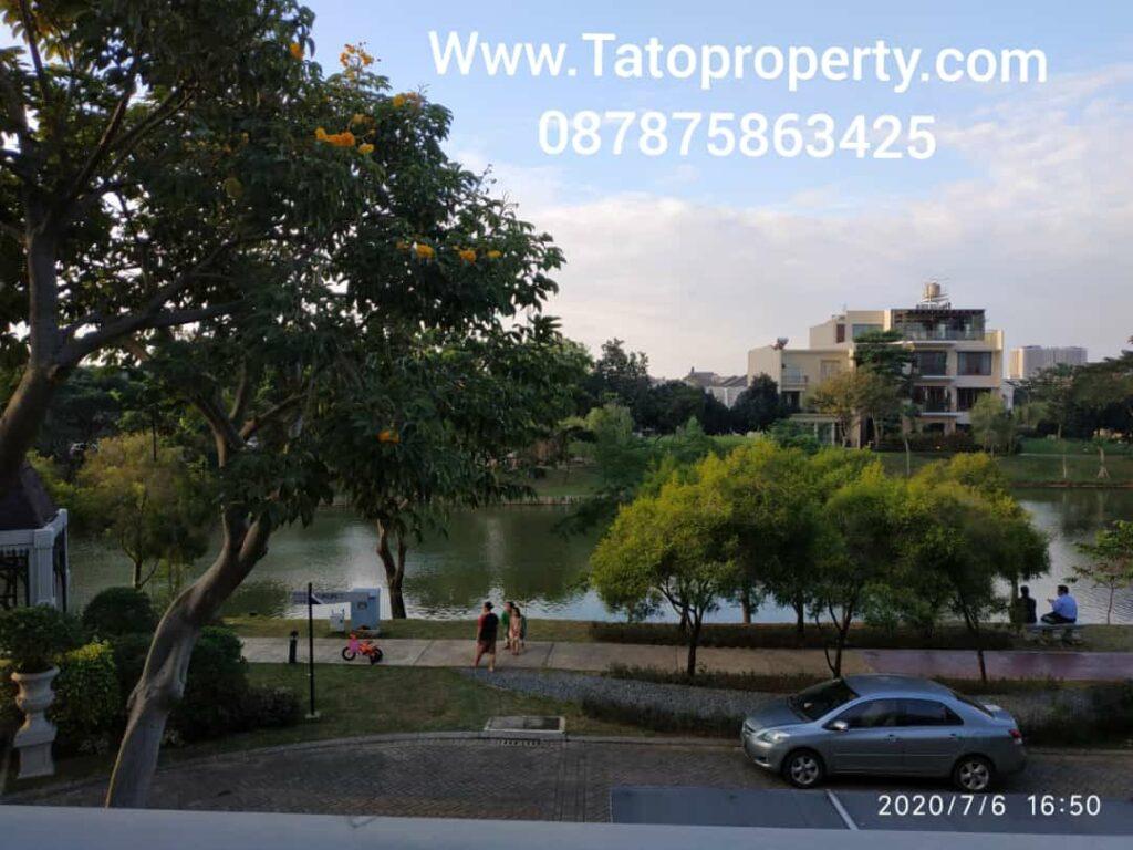 Jual Rumah Green Lake View Danau di Sudirman 087875863425