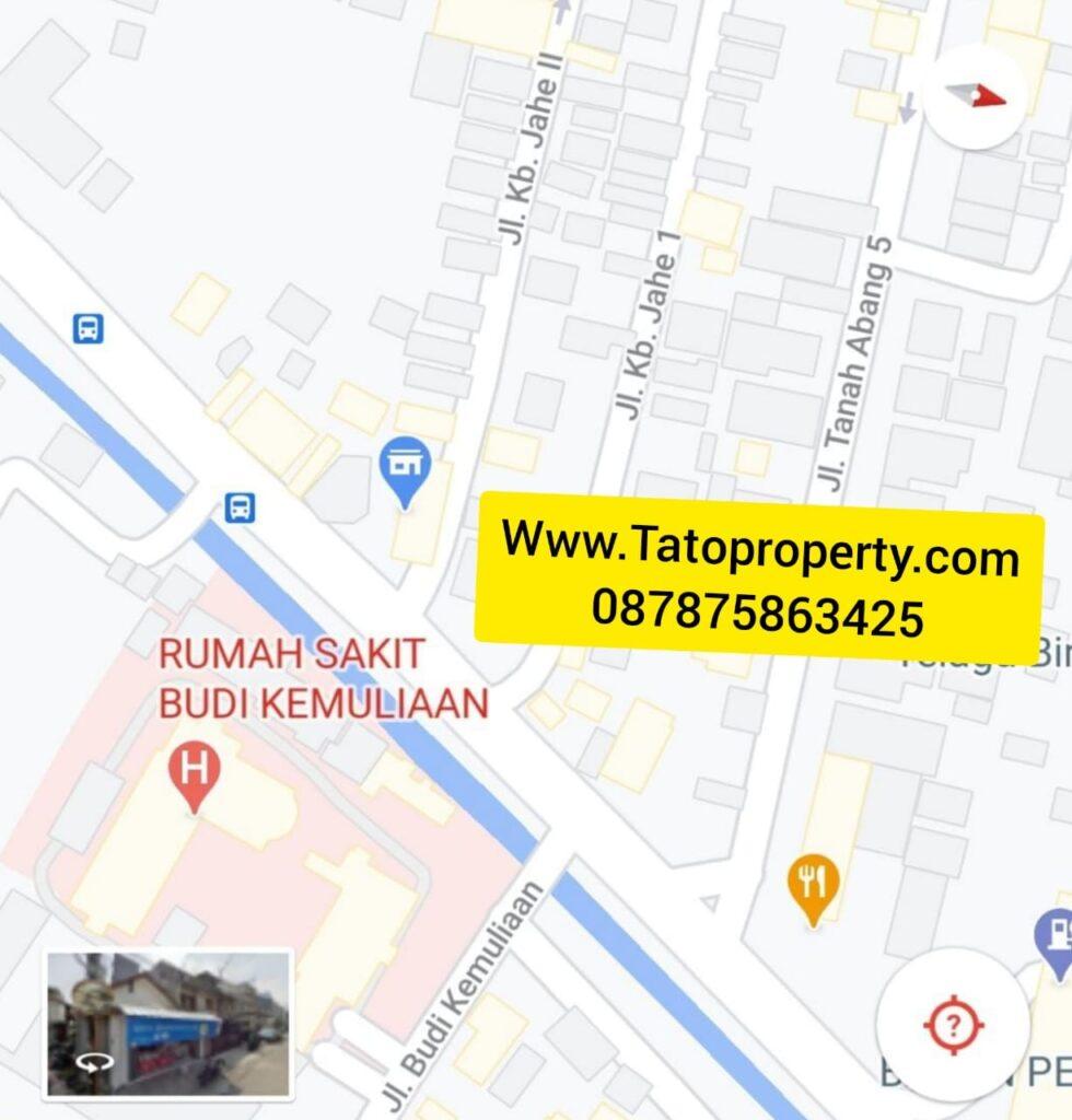 Rumah Dijual Kebon Jahe 2 Petojo di Mampang Tato 087875863425