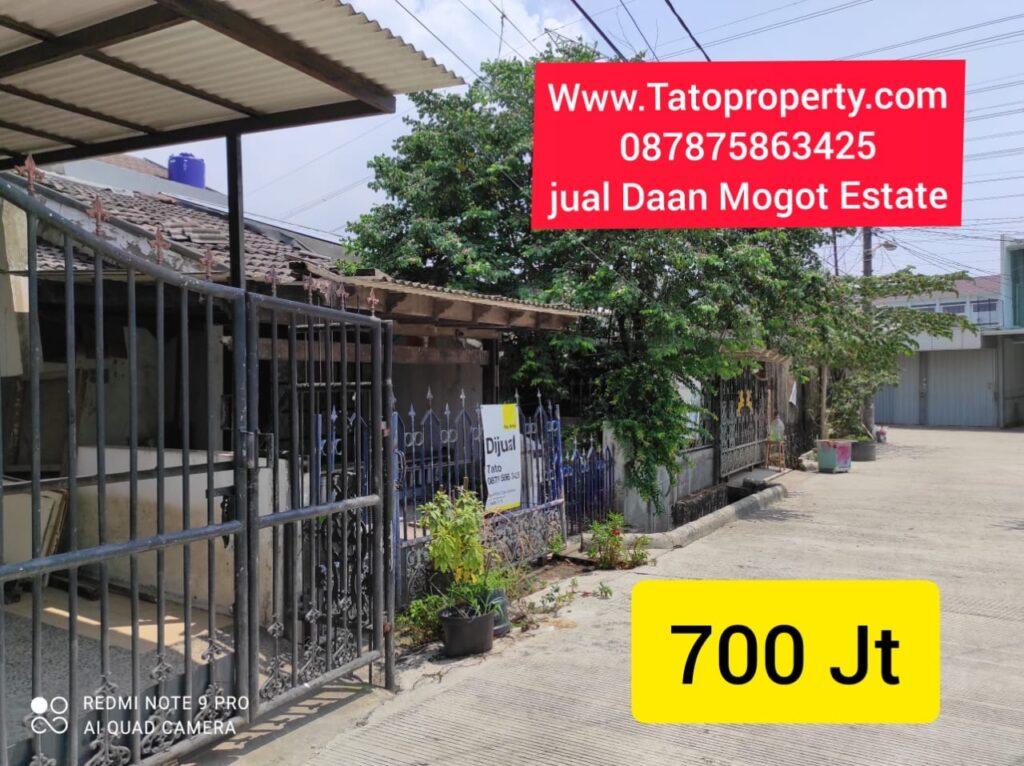 Jual Daan Mogot Estate 705 jt gratis Genset Tato 087875863425