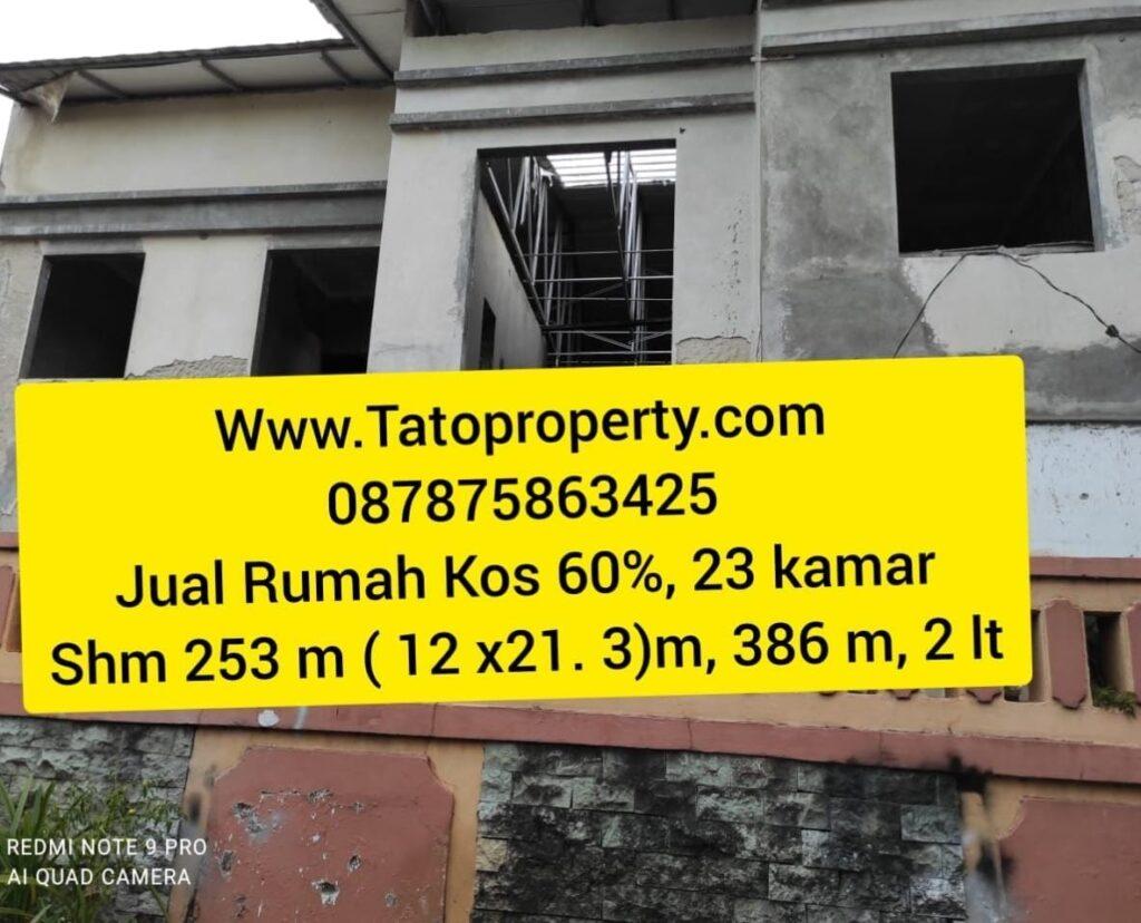 Dijual Rumah kos 23 kamar Dekat OT Jakarta Barat Tato 087875863425