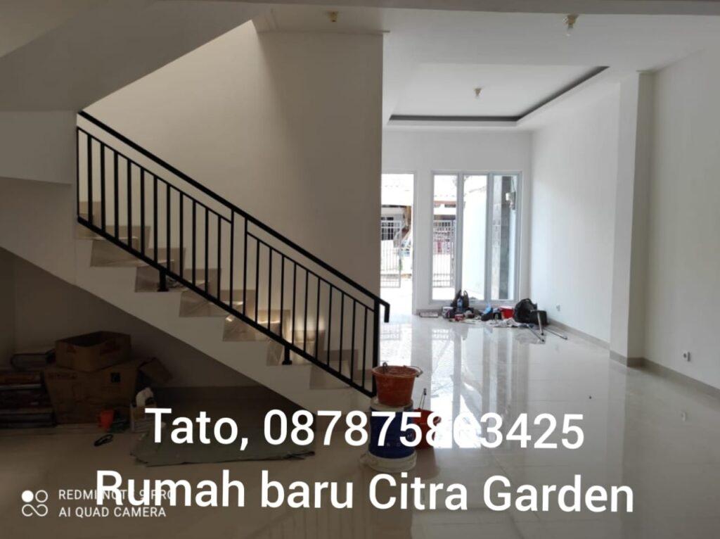 Jual Citra Garden Baru Bangun 2 lantai bagus Tato 087875863425
