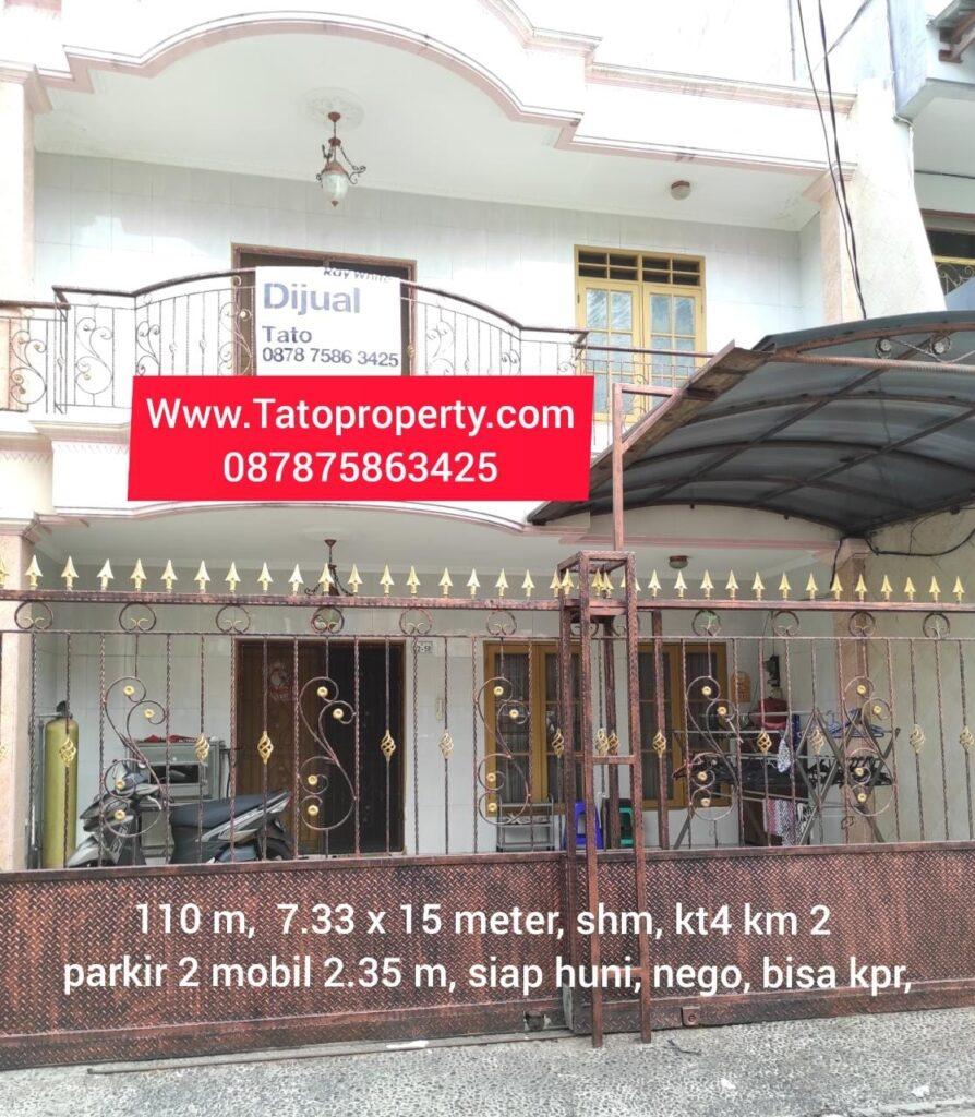 Jual Rumah Taman Palem Lestari 110m Tatoproperty 087875863425