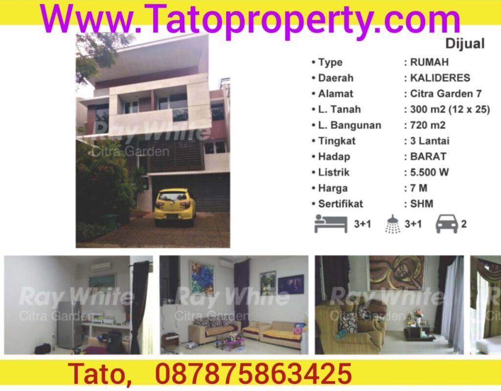 Citra 7 Edelweiss 300m Rumah dijual 7 miliar Tatoproperty 087875863425